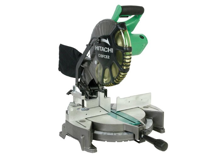 "Hitachi-C10FCE2 10"" Compound Miter Saw - click for our review"
